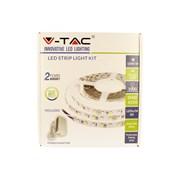 V-tac Ip20 Led Warm White Strip Light Kit 5m (VTWWSTRIPKIT-IP20)